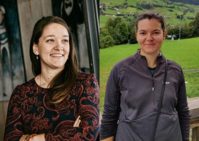 Magali Baude et Mélanie Lavabre